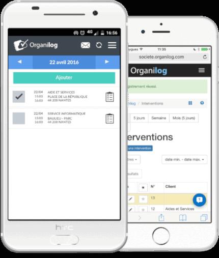application mobile gestion entreprise de nettoyage